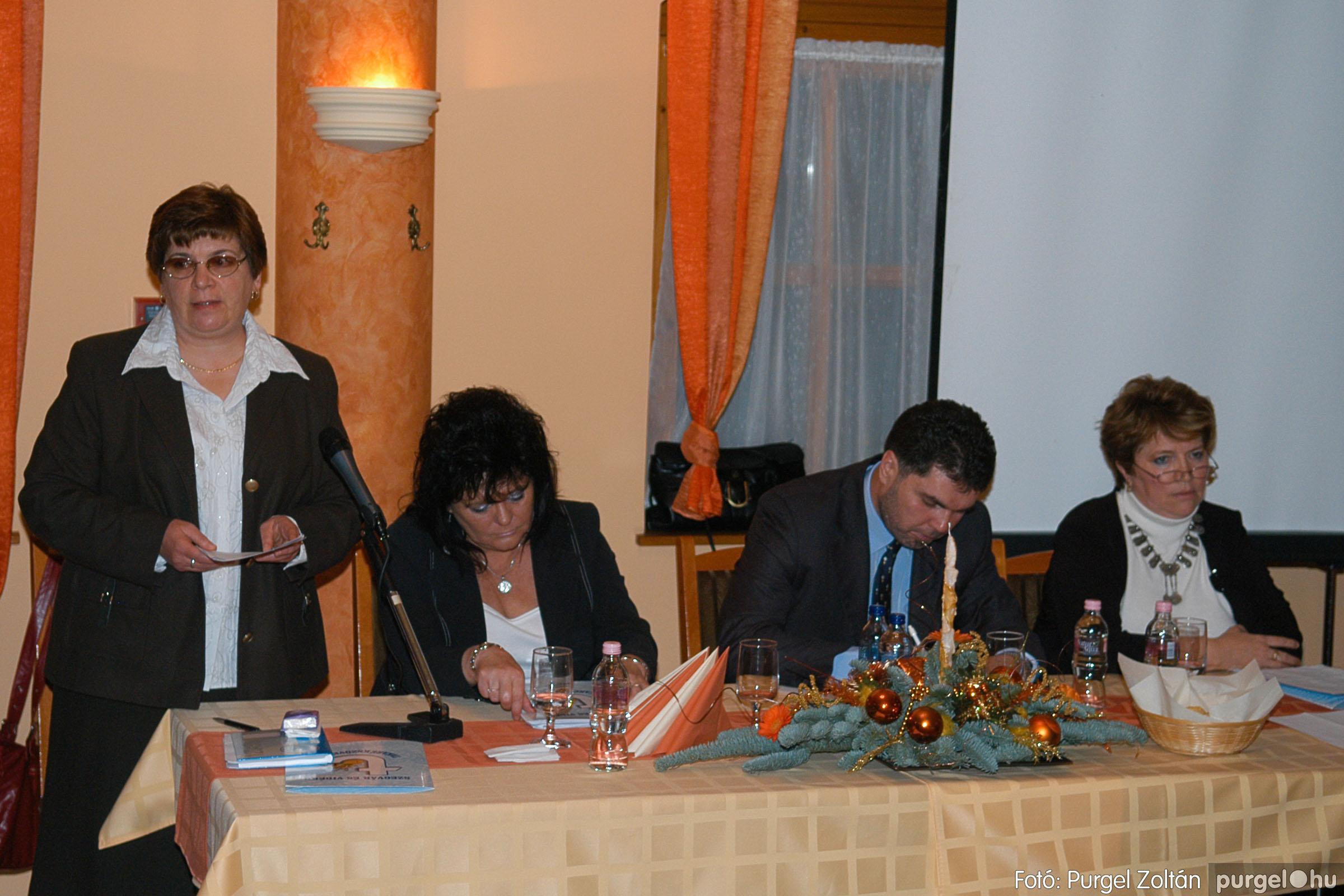 2009.12.04. 011 Szegvár és Vidéke Takarékszövetkezet évzáró - Fotó:PURGEL ZOLTÁN© DSC_0150q.jpg