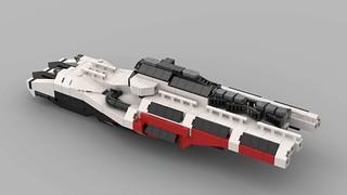 MOC - MicroSpace Ship WIP