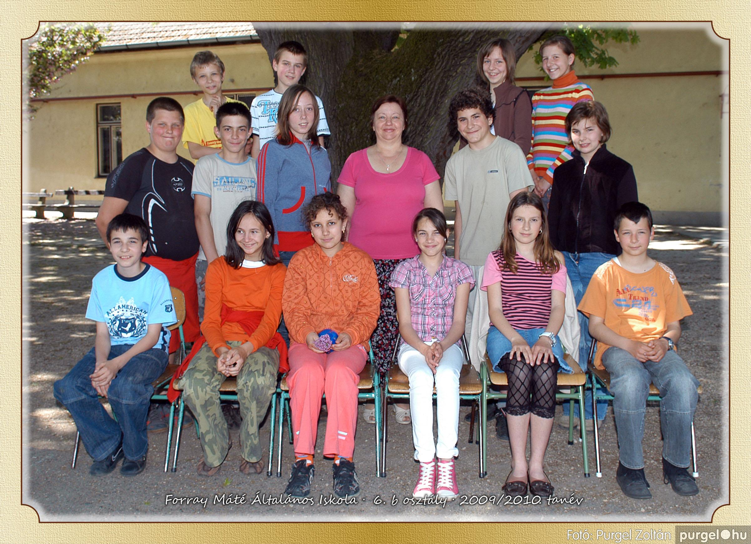 2010.04.28-06.07. 035 Forray Máté Általános Iskola osztályképek 2010. - Fotó:PURGEL ZOLTÁN© 6b-2.jpg