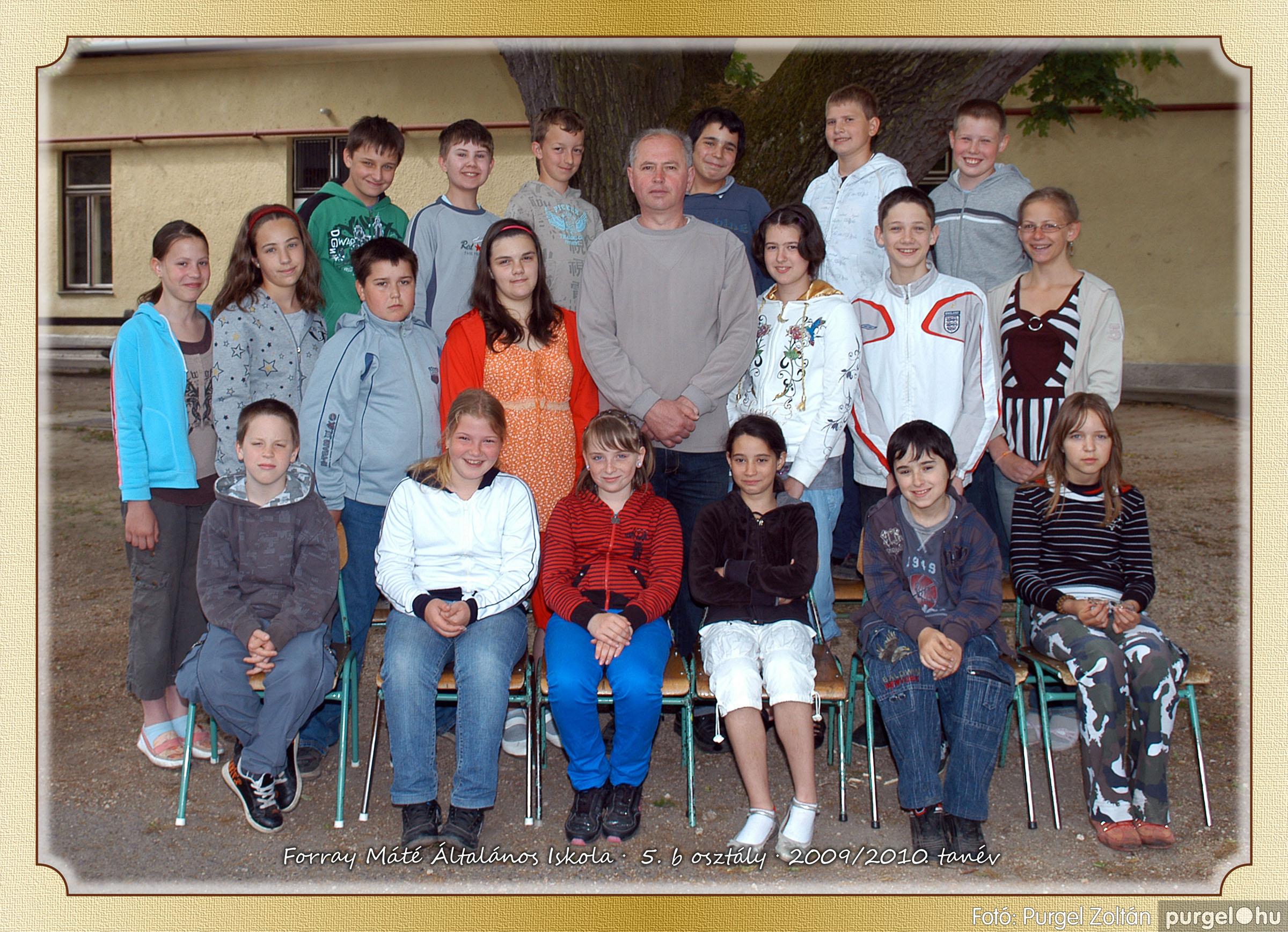 2010.04.28-06.07. 029 Forray Máté Általános Iskola osztályképek 2010. - Fotó:PURGEL ZOLTÁN© 5b-2.jpg