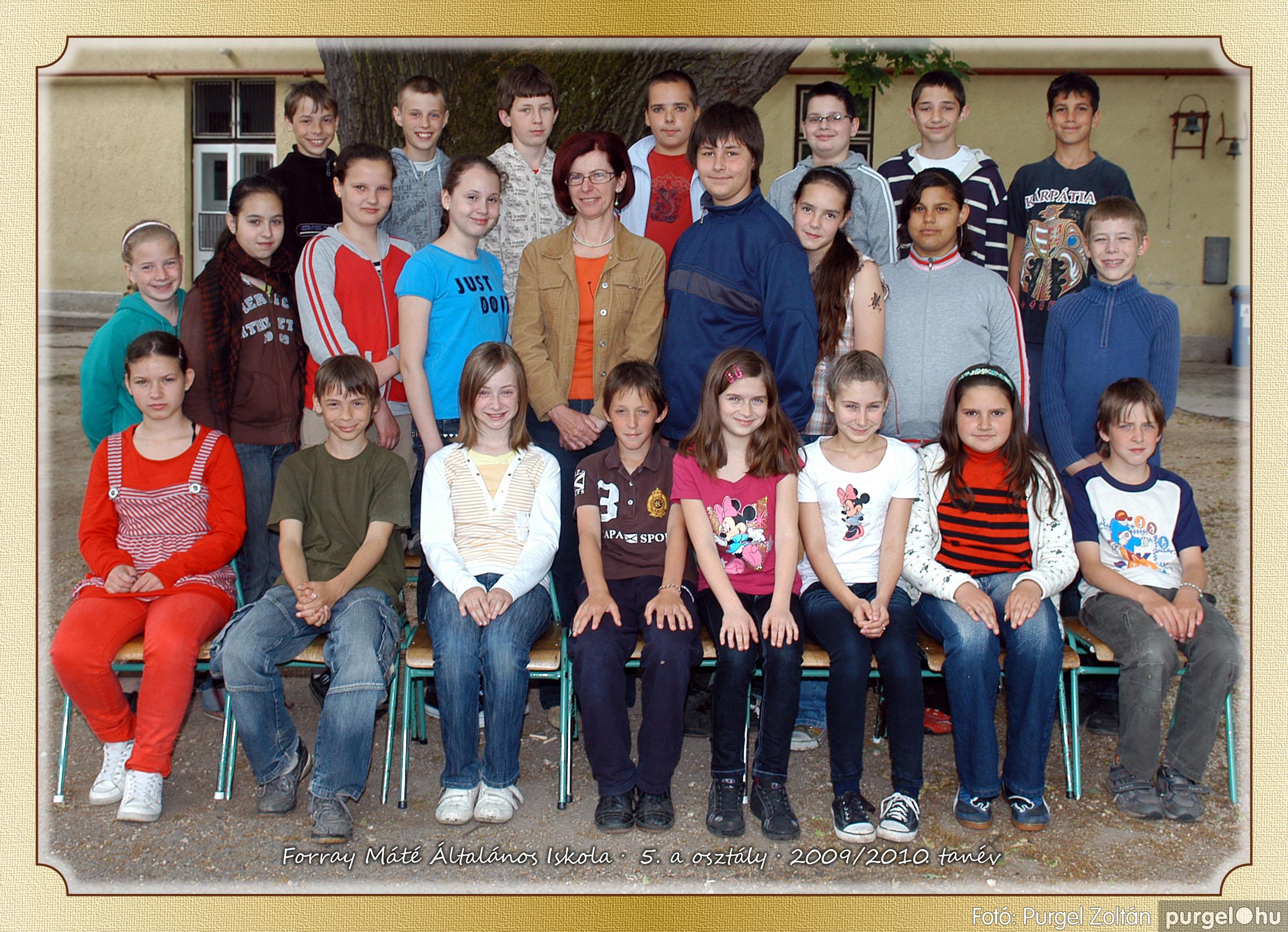 2010.04.28-06.07. 026 Forray Máté Általános Iskola osztályképek 2010. - Fotó:PURGEL ZOLTÁN© 5a-2.jpg