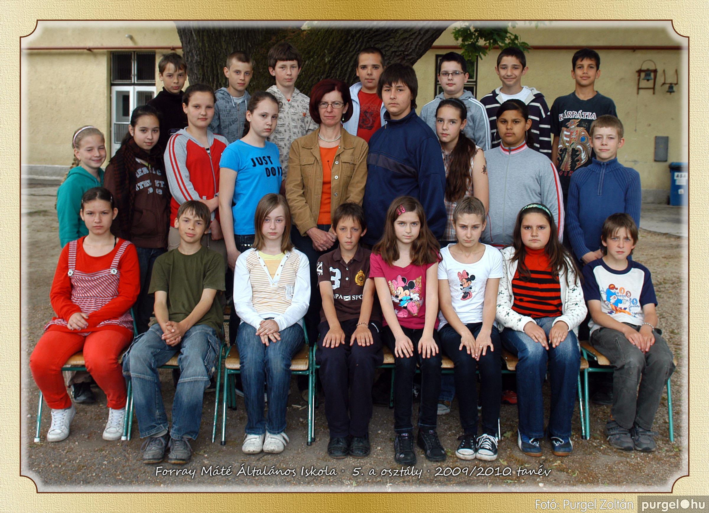 2010.04.28-06.07. 025 Forray Máté Általános Iskola osztályképek 2010. - Fotó:PURGEL ZOLTÁN© 5a-1.jpg