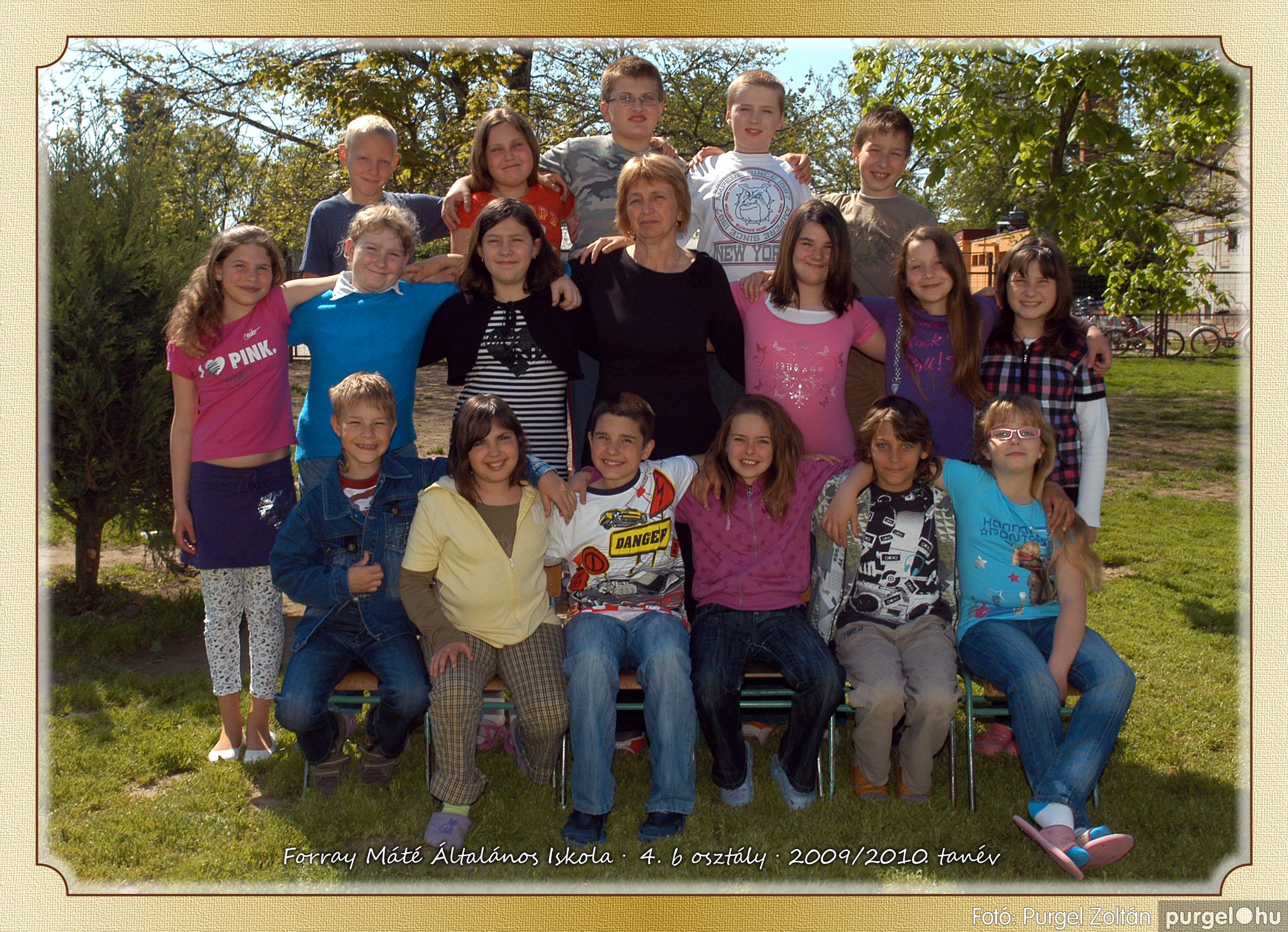 2010.04.28-06.07. 023 Forray Máté Általános Iskola osztályképek 2010. - Fotó:PURGEL ZOLTÁN© 4b-2.jpg