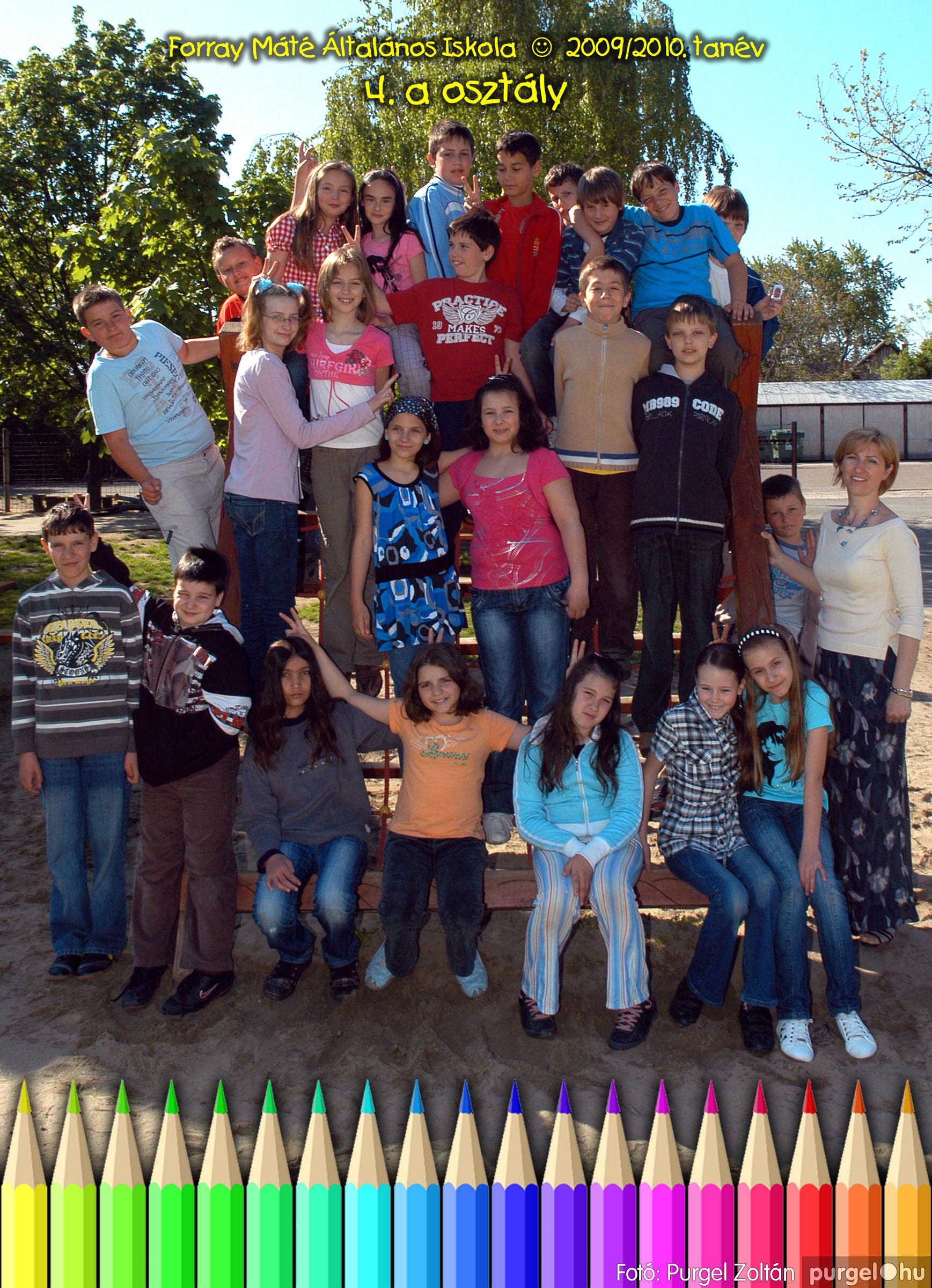 2010.04.28-06.07. 021 Forray Máté Általános Iskola osztályképek 2010. - Fotó:PURGEL ZOLTÁN© 4a-3.jpg