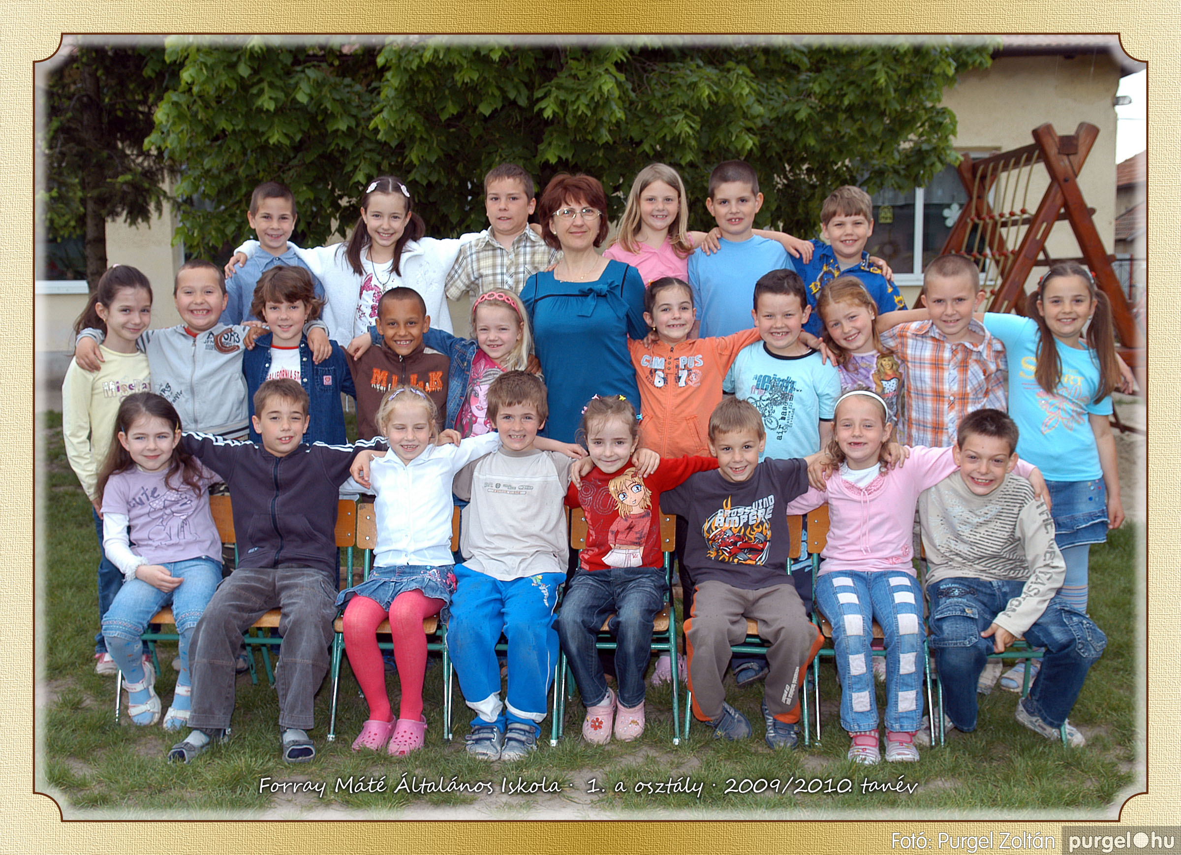 2010.04.28-06.07. 002 Forray Máté Általános Iskola osztályképek 2010. - Fotó:PURGEL ZOLTÁN© 1a-2.jpg