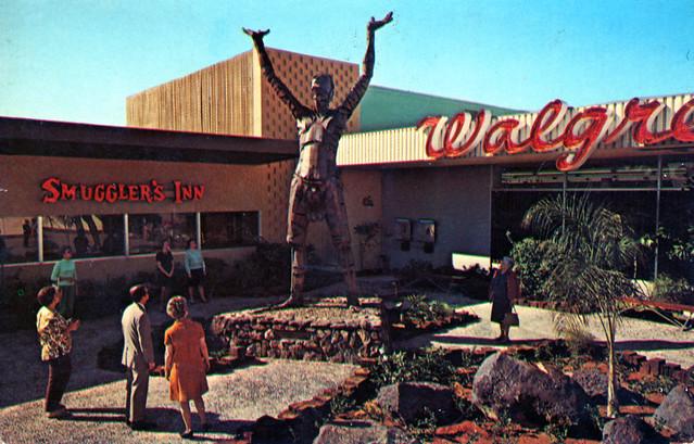 Sun Worshipper at Park Central Shopping Center Phoenix AZ