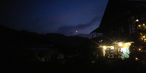 한낮의 더위만큼 붉은 노을과 함께 찾아온 시원한 밤하늘 풍경들...