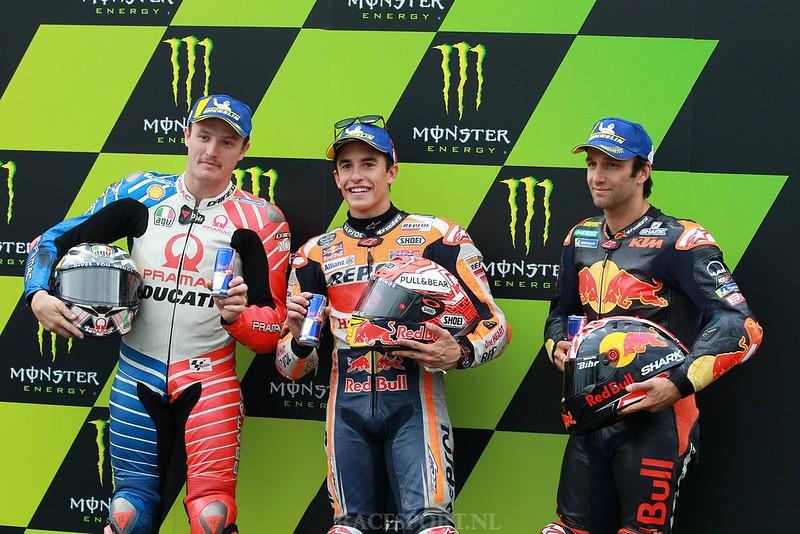 Top 3 - MotoGP kwalificatie