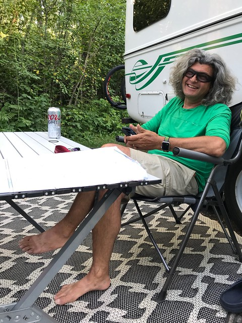 Kakabeka - Pierre with beer