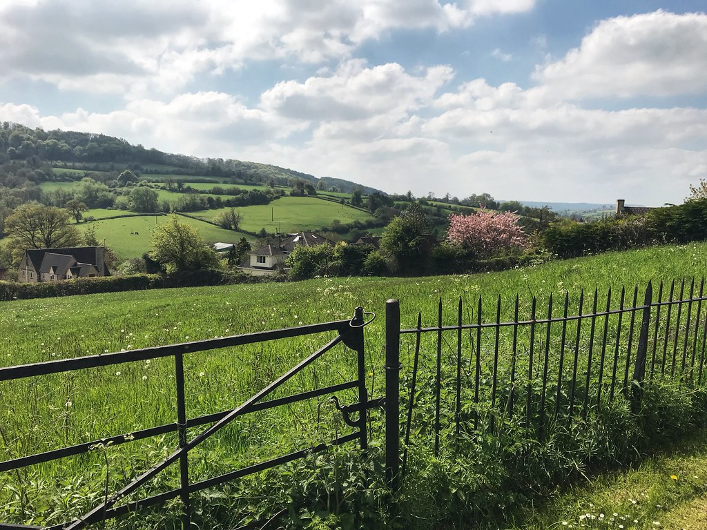 Views over the Cotswold hills - Painswick