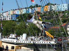 The Invisible Circus at Brunel's SS Great Britain in Bristol