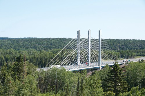 Nipigon - Bridge from viewing platform