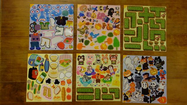 各種貼紙@《走到哪貼到哪:賴馬的遊樂園遊戲貼紙書》,親子天下
