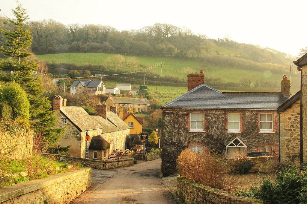 Branscombe, Devon - one of the most beautiful villages in England
