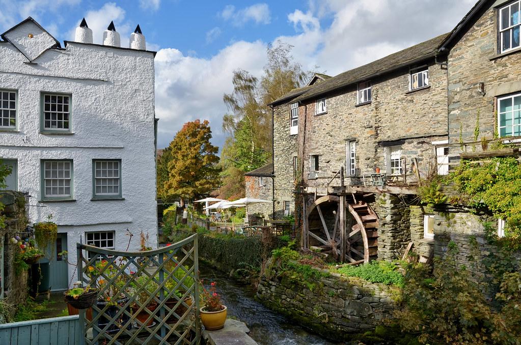 Waterwheel at Ambleside, English Lake District