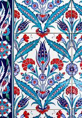 Tile Art II - Nizamiye Mosque