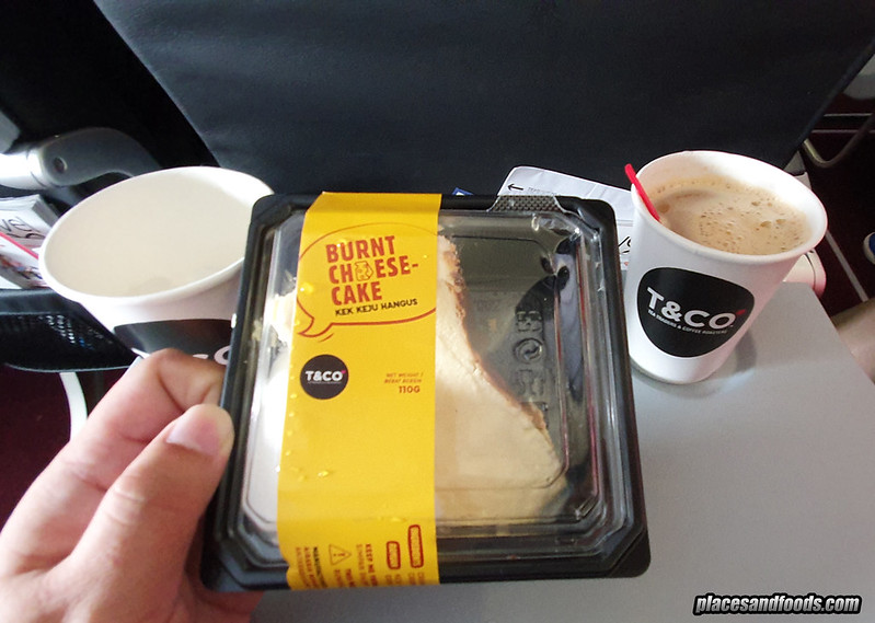 airasia santan burnt cheesecake