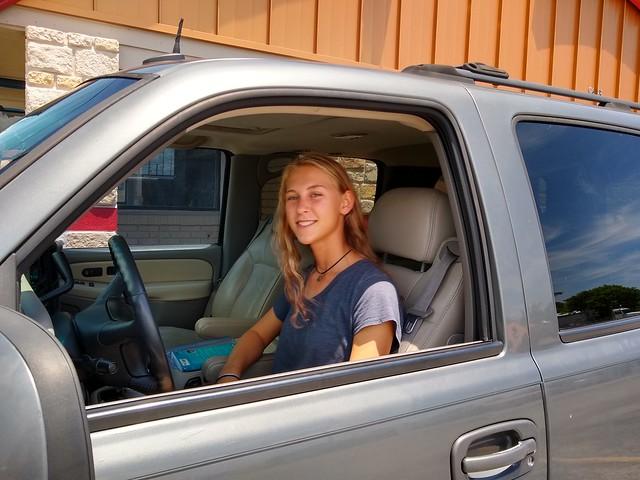 Sarah Driving 2019