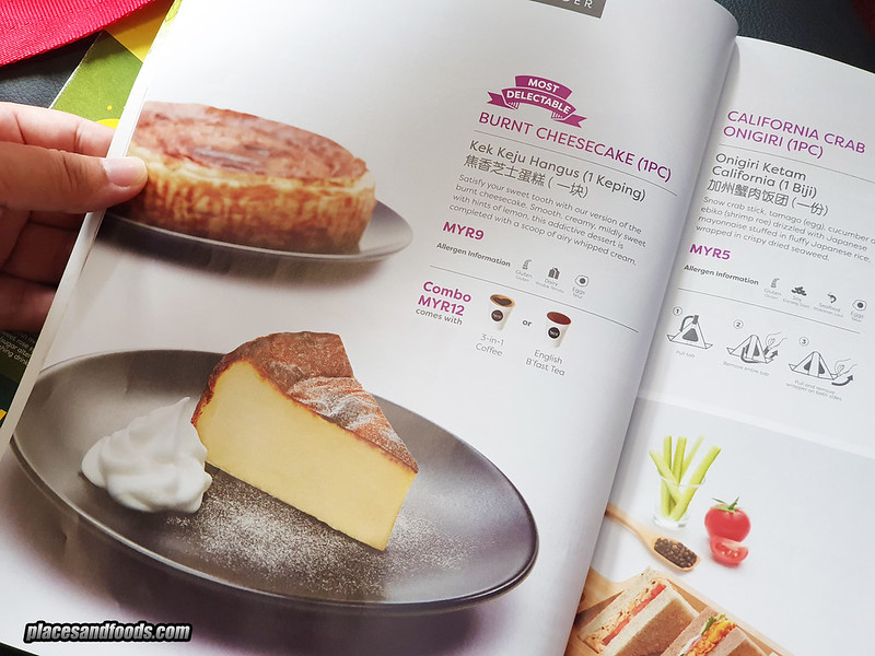 airasia burnt cheese cake mag
