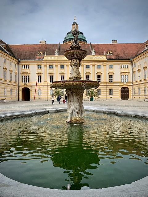 Courtyard, Melk Abbey