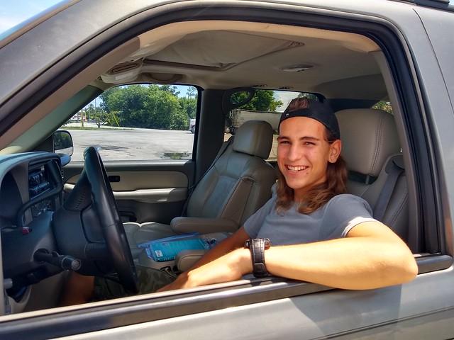 Aaron Driving 2019