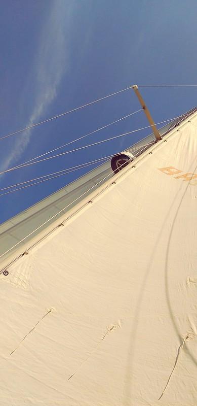 ...crossing Sound, escape velocity at 4 knots.