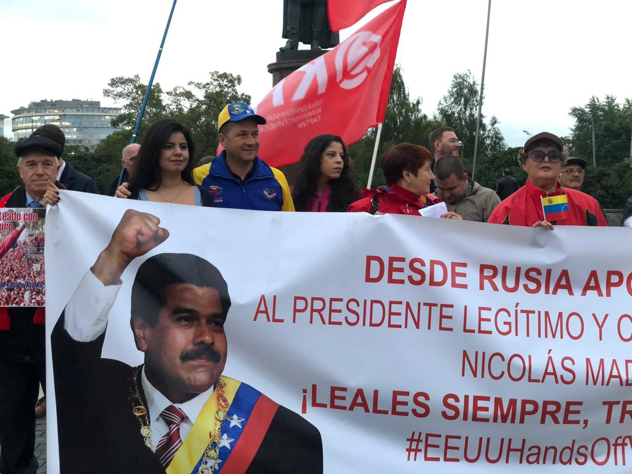 Movimientos políticos y sociales en Rusia realizan jornada de solidaridad con Venezuela