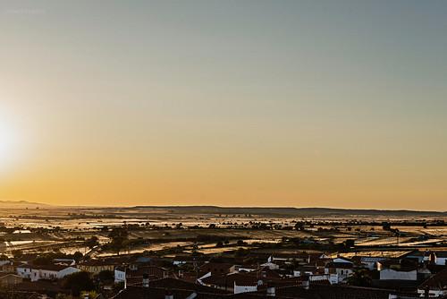 Atardece en Extremadura