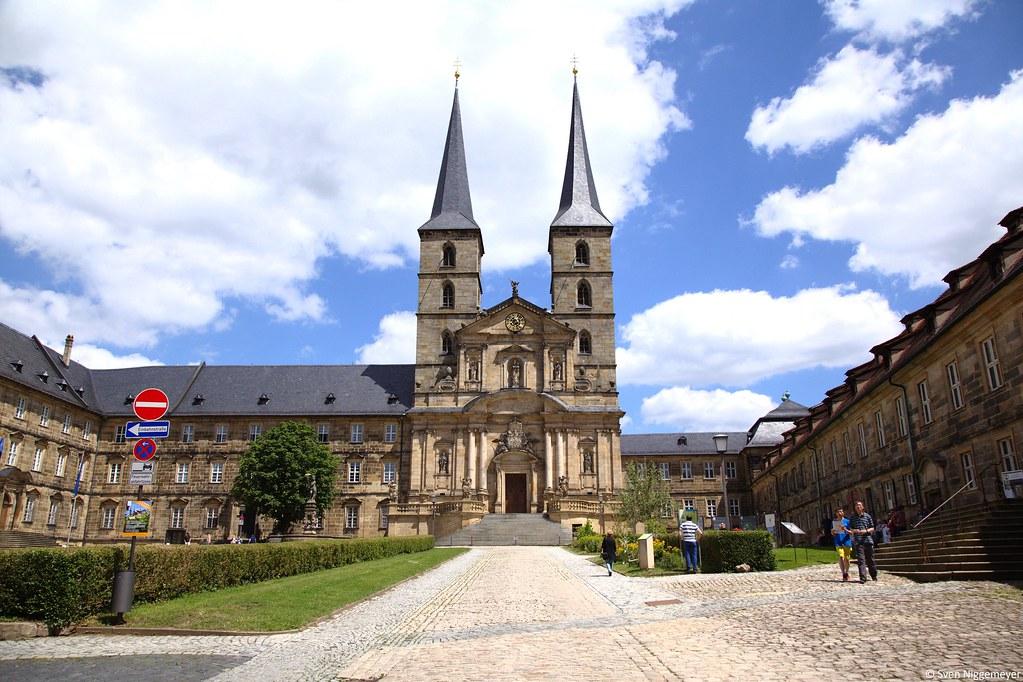 Kloster Michelsberg in Bamberg am 28.06.15