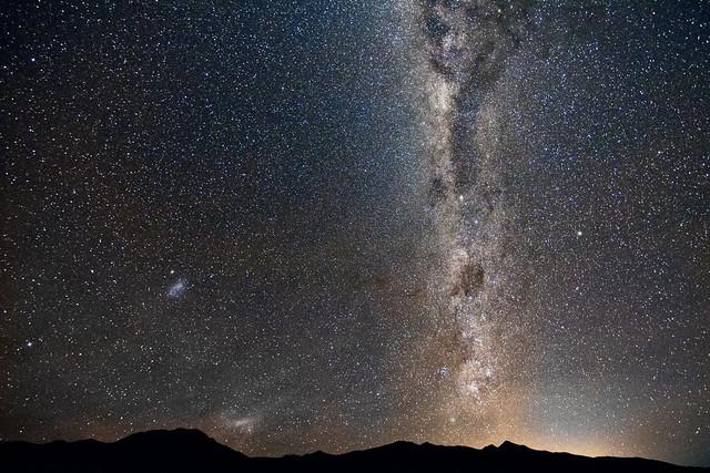 Magical austral sky