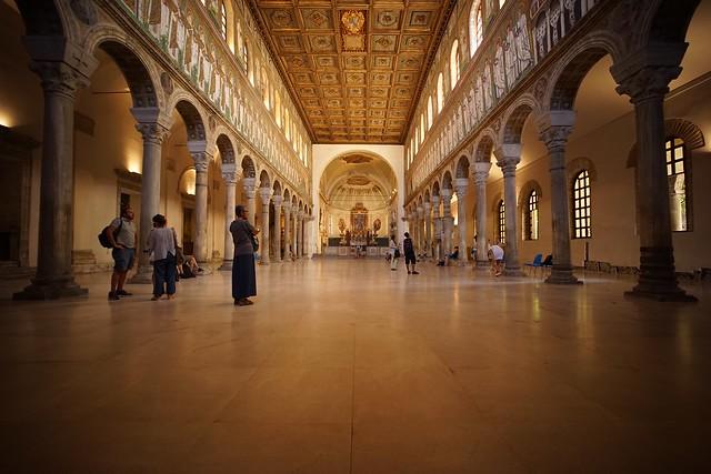Basilica di Santa Apollinare Nuovo Distagon 15/2.8 @ f3.5