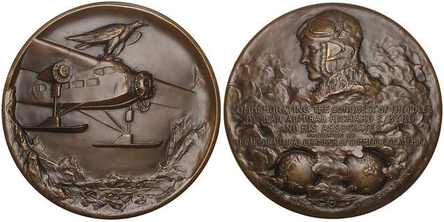 Richard E. Byrd Bronze Medal