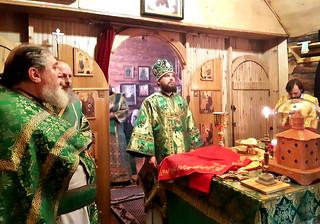 01.08.2019 | Престольный праздник в пос. Парфино