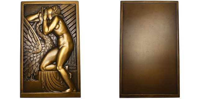 Leda and the Swan Plaque