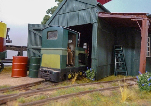 Looking in the loco shed