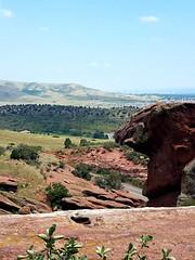 Denver From Red Rocks