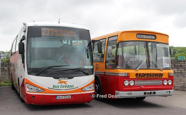 Bus Eireann SC211 & CIE MD177 (177IK).