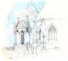 France, Somme, Chapelle Saint-Lambert de Sentelie