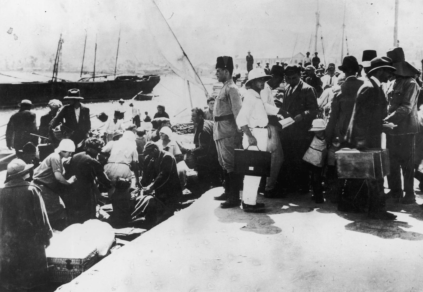33. Хайфа. Еврейские иммигранты из Европы