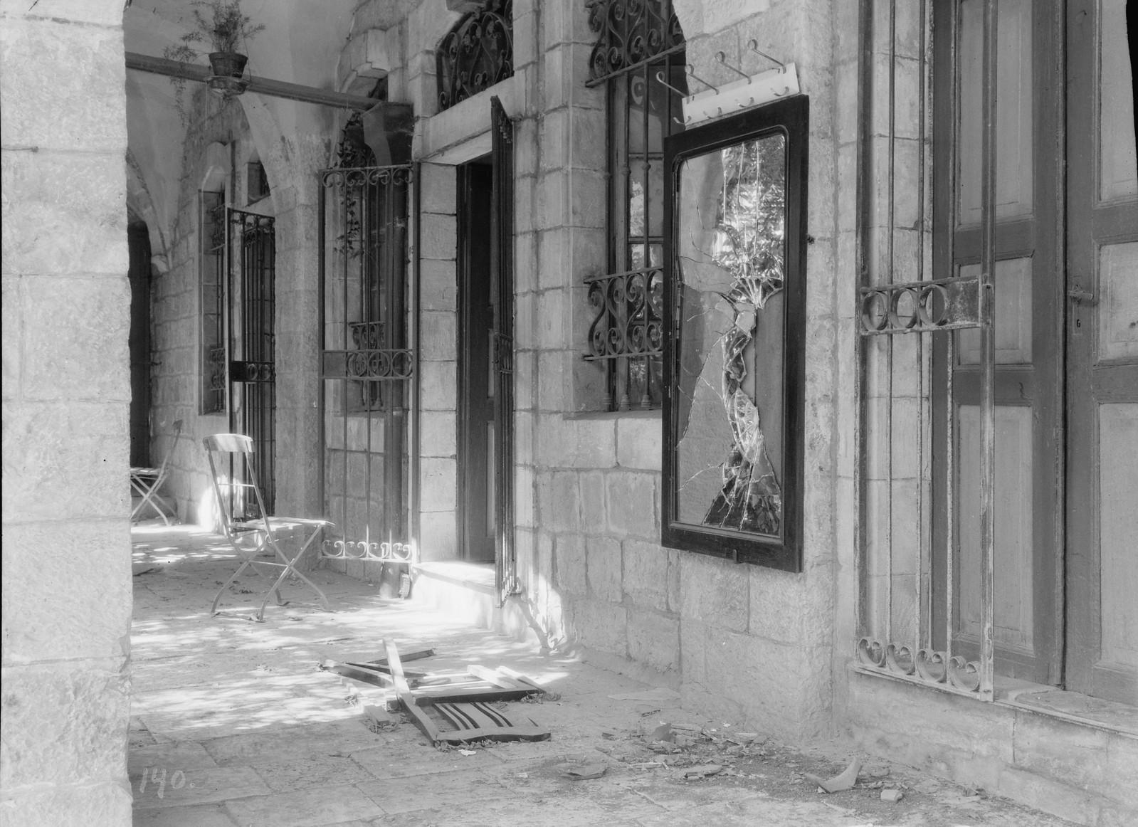 29. 23–31 августа.  Мечеть «Авкаши» возле еврейского квартала Иерусалима была осквернена евреями в рамках возмездия за Хевронскую резню