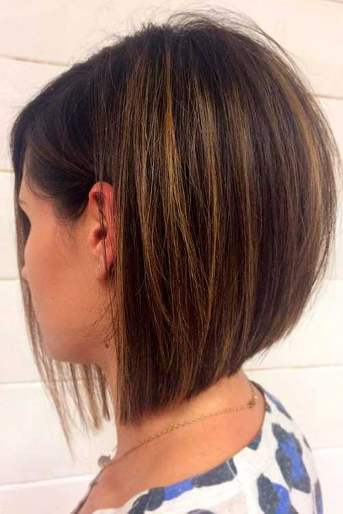 Most popular inverted bob hairstyles for 2019 - Fashion 2D