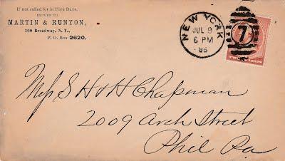 7_9_1885 De Yoanna letter to Chapmans