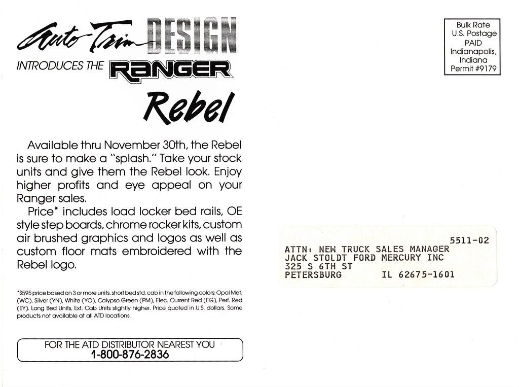 Ford Ranger Font Style