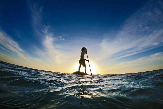 Sunset SUP in Jericoacoara