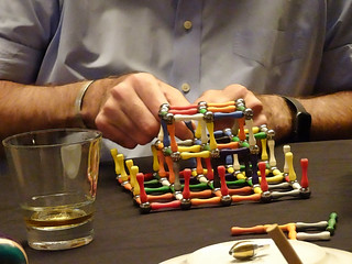 Magnetic Construction Toy in Balisage Social Room