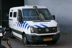 Dutch police Volkswagen Crafter