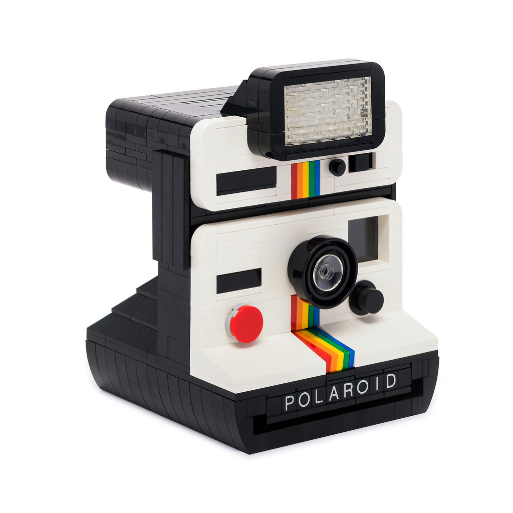 Polaroid Onestep with Q-Light Flash