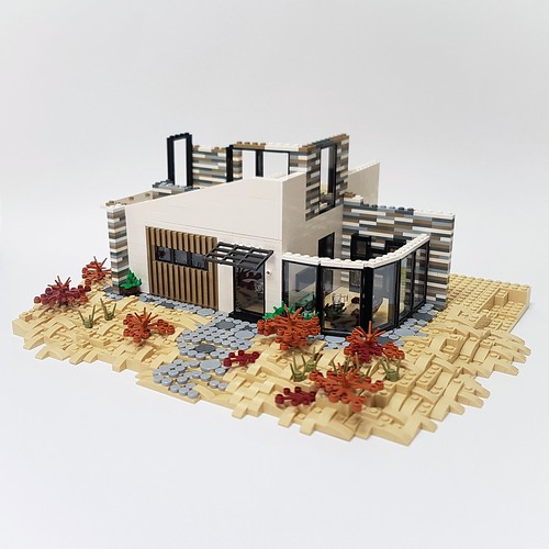 Dune House MOC - work in progress August 3rd. | by betweenbrickwalls