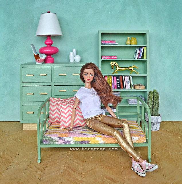 Actualiza tus muebles de Barbie…