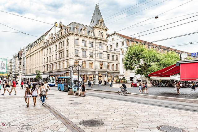 My lovely Geneva - Place du Molard-Rue du Marché - DSC_0132